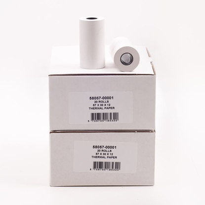 57 x 30 x 12mm Thermal Paper (Box of 20)