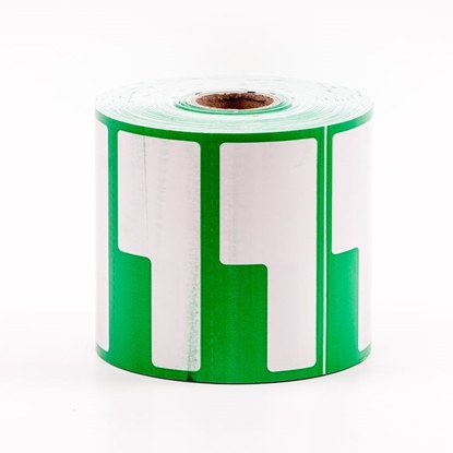 Label Printing Roll - Green