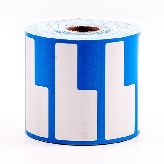 Label Printing Roll - Blue