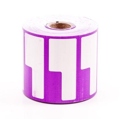 Label Printing Roll - Purple