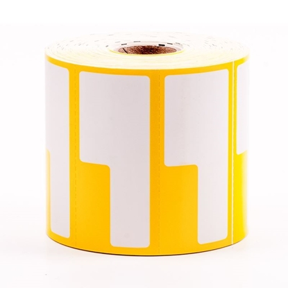 Label Printing Roll - Yellow