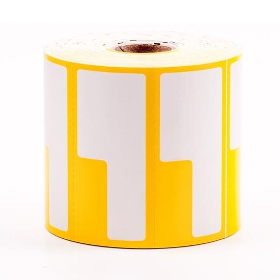 Label Printing Roll - Yellow