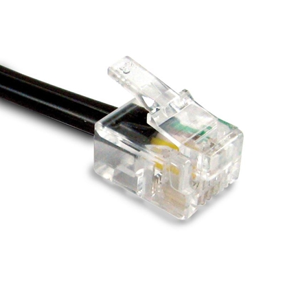 RJ11 Male BT Broadband Cable ADSL Modem Router Lead - 5m