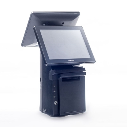 "Posiflex HS Series 12"" EPOS Till With 10"" LCD Customer Display"