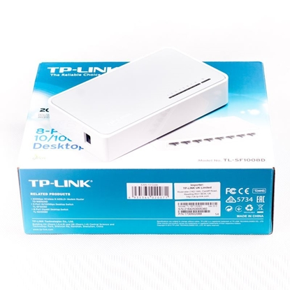 TP Link TL-SF1008D 8-Port Switch