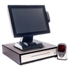"All in One 15"" Touch Screen EPoS System with a Multi Beam Scanner"