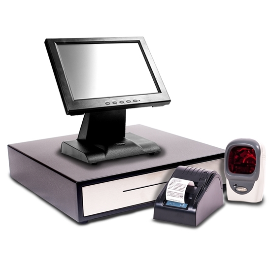 "Starter POS 12"" Touch Screen EPoS System with a Multi Beam Scanner"