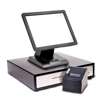 "Starter POS 15"" Touch Screen EPoS System including Cash Drawer"